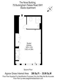 Floor Plan Buckingham Palace Studio Apartment To Rent In The Nova Building 75 Buckingham