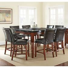 Kitchen High Table And Chairs - scott counter height table and 8 chair dining set sam u0027s club