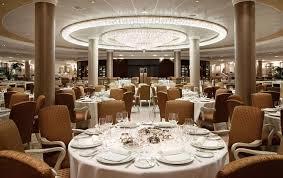 Grand Dining Room Oceania Cruises Riviera Cruise Ship Dining Restaurants Menus