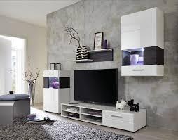 Schrankwand Wohnzimmer Modern Funvit Com Landhausmöbel Hochglanz Weiss