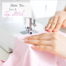 learn to sew lesson 3 how to top stitch and turn
