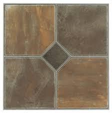Checkerboard Vinyl Floor Tiles by Vinyl Flooring Amazon Com