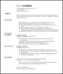 Auto Mechanic Resume Sample by Free Entry Level Mechanic Resume Template Resumenow