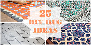 How To Make A Area Rug Remodelaholic 25 Diy Rug Ideas