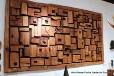 wood wall sculptures wooden wall sculptures ebay