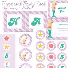 mermaid emmy gabbie paperstyles fabulously cute printable