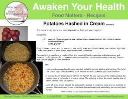 food matters u2013 recipes michael olesky