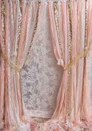 Sparkle Window Curtains by Ribbon Wedding Props Bridal Birthday Photography Baby Shower Party