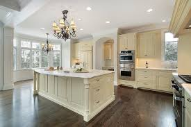 photos of kitchrn with dark cabinets and wood floors high quality