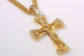 christian jewelry store wholesale 90cm hip hop jewelry rapper cool jesus cross