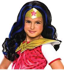 Halloween Costumes Girls Amazon Amazon Super Dc Heroes Woman Child U0027s Costume Medium