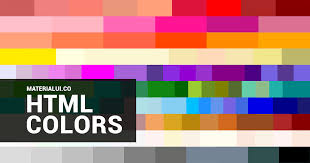 html colors html color codes html color picker material ui