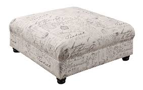 ottoman storage extra large coffee table extra large ottoman storage cloth square cocktail