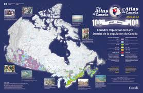 canada population density map yup i live about 100