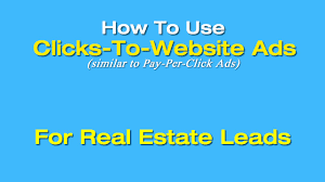 how to use clicks to website facebook ads for real estate leads