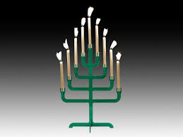 tree of menorah amazing christmas trees for tiny spaces ny daily news