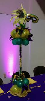 mardi gras centerpieces party event decorating company mardi gras awards banquet 2012