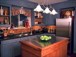 kitchen oak cabinets black countertops dark wood kitchen small