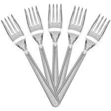 plastic cutlery 100 of luxury quality clear forks plastic cutlery weddings