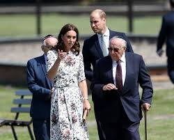 prince william and princess kate make solemn visit to stutthof