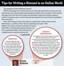 Tips For Writing A Resume Resume Infographics