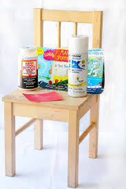 ikea diy chair makeover for the book lover mod podge rocks