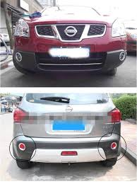 nissan qashqai rear light car accessories chrome front and rear fog light lamp cover