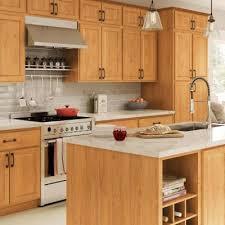 lowes medium oak kitchen cabinets oak medium kitchen cabinets kitchen the home depot