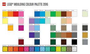 colour of 2016 lego 2016 color palette the brick fan the brick fan