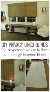 Window Treatments For Small Basement Windows Best 25 Bamboo Roman Shades Ideas On Pinterest Window
