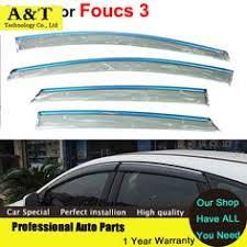 for 12 15 honda civic sedan sun window visor rain guard tinted