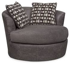 Sofa With Swivel Chair Brando Sofa With Chaise And Swivel Chair Set Smoke Value City