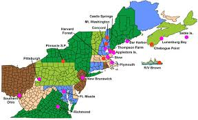 northeast map of us icartt 2004 research regional air quality