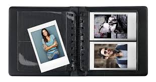 photo album fujifilm instax mini wallet 108 photo album black