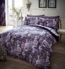 purple king size duvet cover black and bedding comforters lavender
