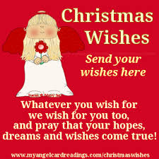 christmas wishes my angel card readings angel wishes make a
