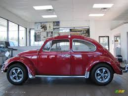 volkswagen beetle 1967 poppy red 1967 volkswagen beetle coupe exterior photo 77604057