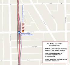 Metra Rail Map Race Day Transportation Chicago Half Marathon And 5k