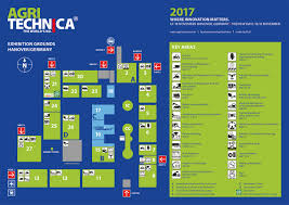 Hannover Germany Map by Agritechnica 2017 Site And Hall Maps