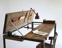fabrication d un bureau en bois decoration fabriquer bureau pliant bois vintage fabriquer un