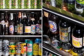 Beer Bottle Refrigerator Glass Door by How To Build The Ultimate Beer Fridge Gear Patrol