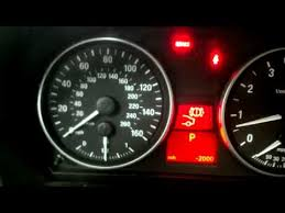 bmw service info icons reset bmw 3 series e90 brake pad light or service lights