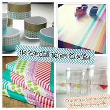 15 washi crafts upcycle in color