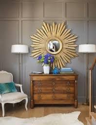 starburst mirror gold foter