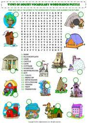 english worksheet animal homes crossword keep calm pinterest