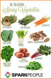 what to eat this spring nutrition diet veggies and spring