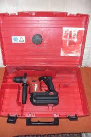 Perforateur Burineur Hilti by Hilti Te6a 1099 U0026 X20ac Perforateur Sans Fil Amazon Fr Bricolage