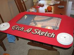 etch a sketch costume functional