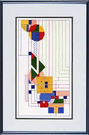 Frank Lloyd Wright Area Rugs Frank Lloyd Wright Designs In Counted Cross Stitch Choose Kits