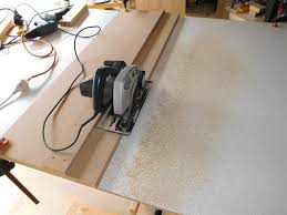 replacement table saw fence table saw work station with homemade t square fence part 1 by gcm